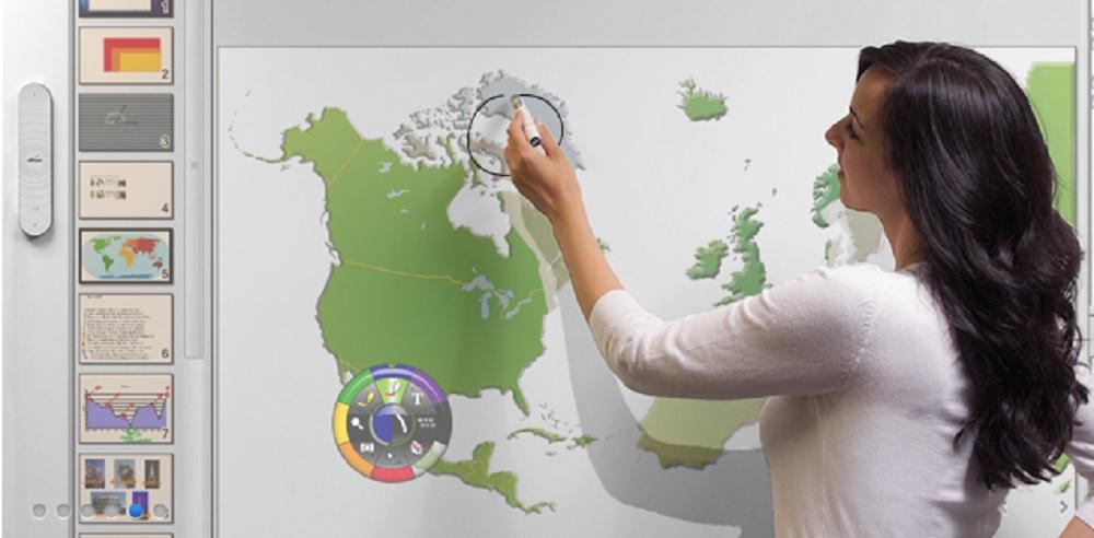 tableau blanc interactif eBeam Interact